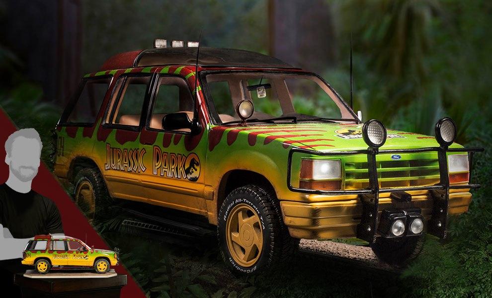 Jungle Explorer 04 Jurassic Park Statue