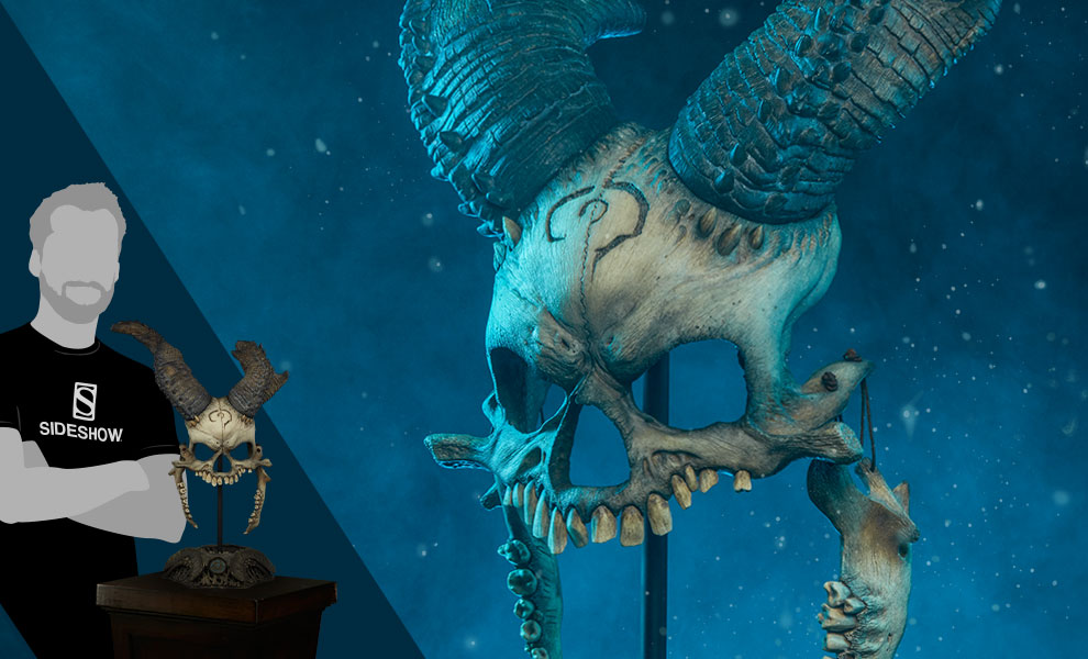 Kier: Bane of Heaven Mask Court of the Dead Life-Size Replica
