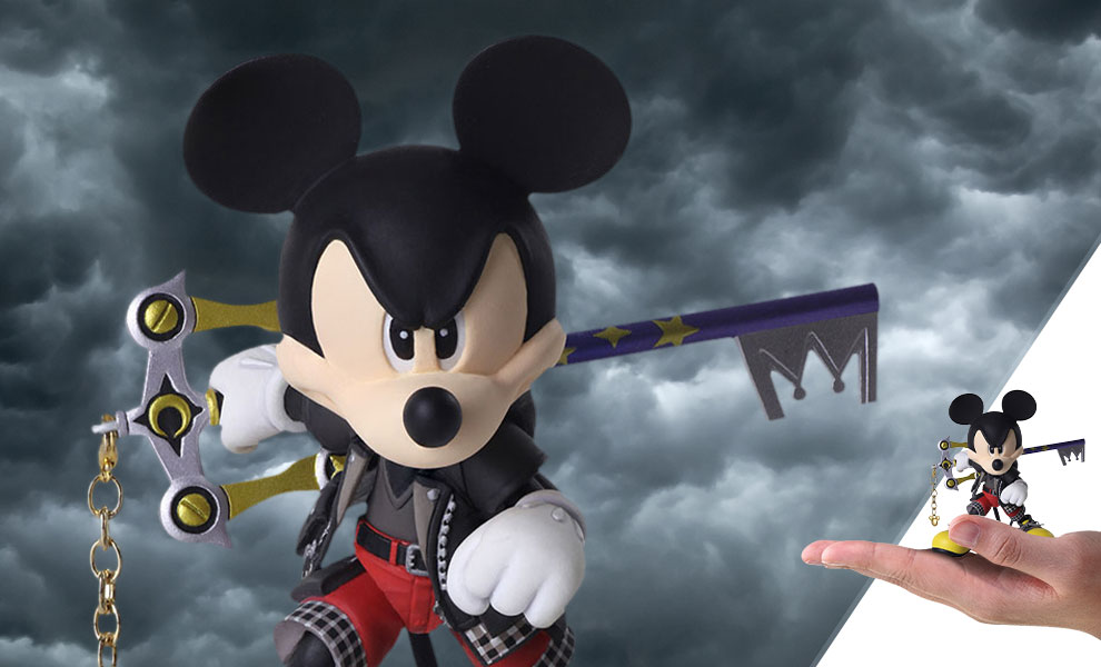 King Mickey Kingdom Hearts Collectible Figure