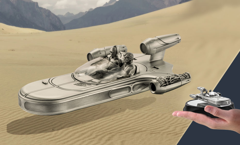Landspeeder Replica Star Wars Pewter Collectible