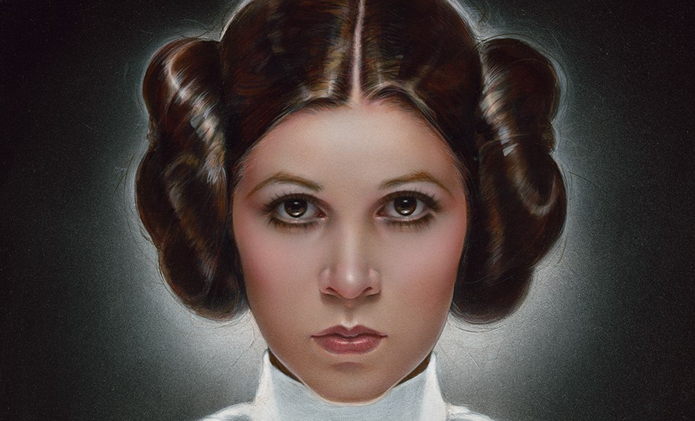 Leia Princess of Alderaan Star Wars Art Print