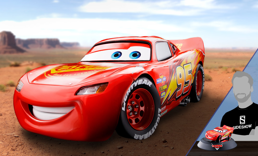 Lightning McQueen Disney Model