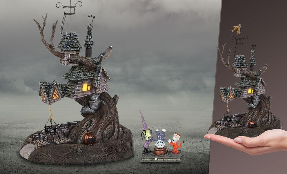 Lock, Shock & Barrel Treehouse Disney Figurine