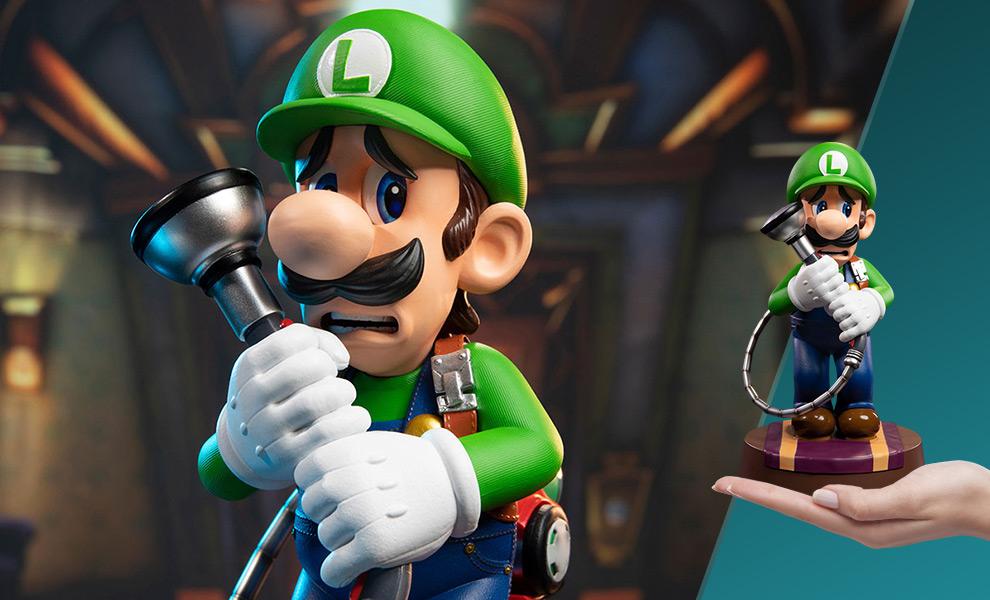 Luigi Nintendo Statue