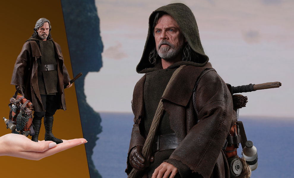 Luke Skywalker Deluxe Version Star Wars Sixth Scale Figure - The Last Jedi