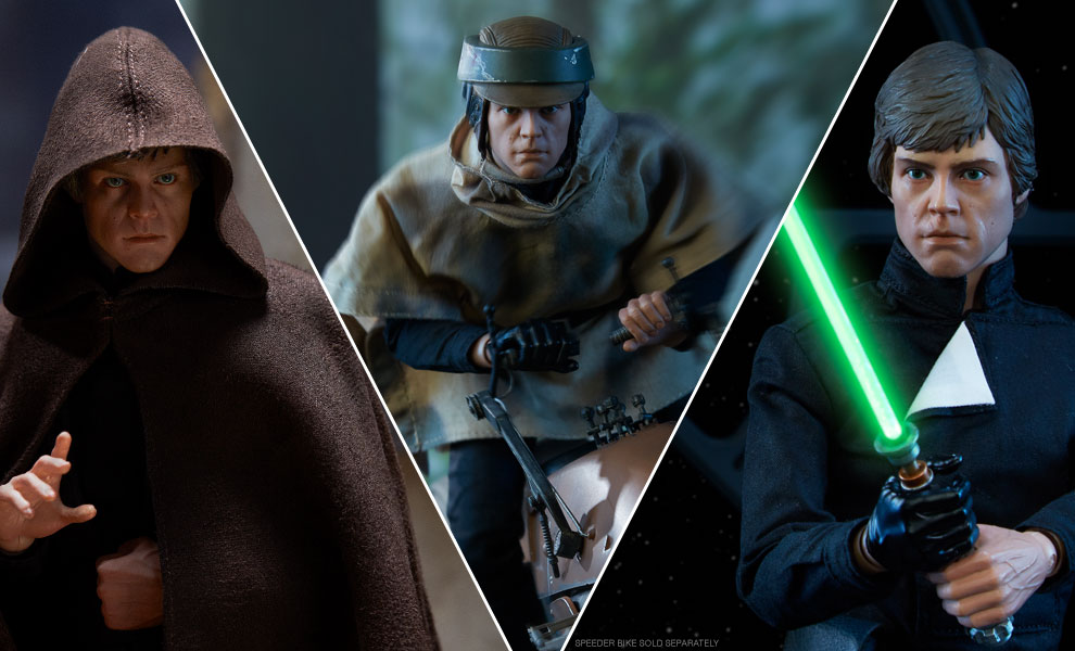 Luke Skywalker Deluxe Star Wars Sixth Scale Figure