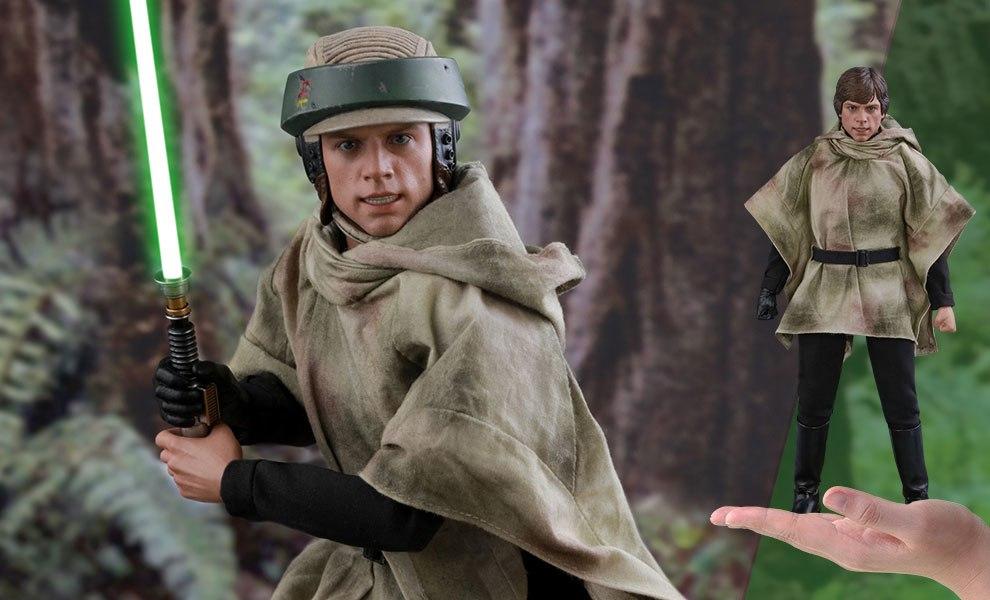 Luke Skywalker Endor Star Wars Sixth Scale Figure