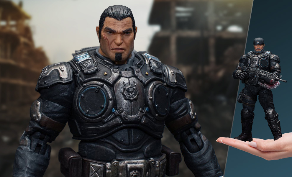 Marcus Fenix Gears of War Collectible Figure