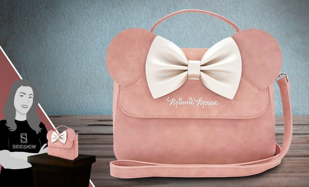 Minnie Ears and Bow Pink Crossbody Bag Disney Apparel