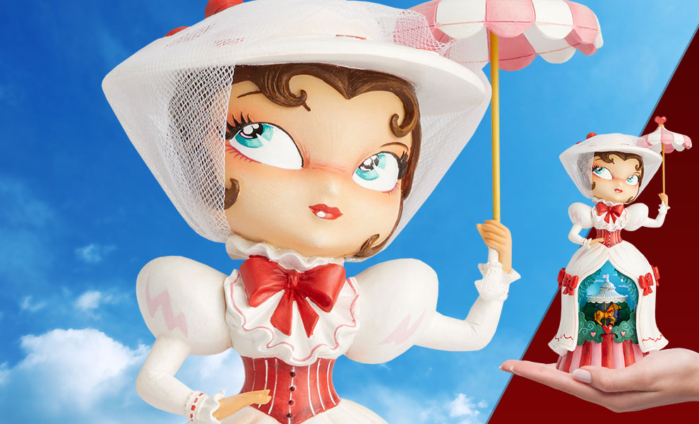 Miss Mindy Mary Poppins Musical Disney Figurine