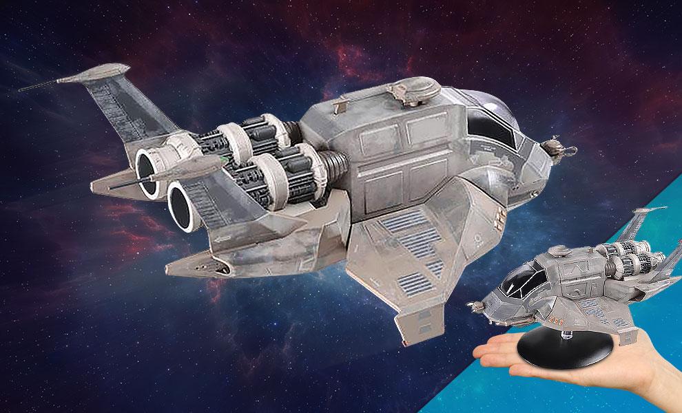 Modern Raptor Battlestar Galactica Model