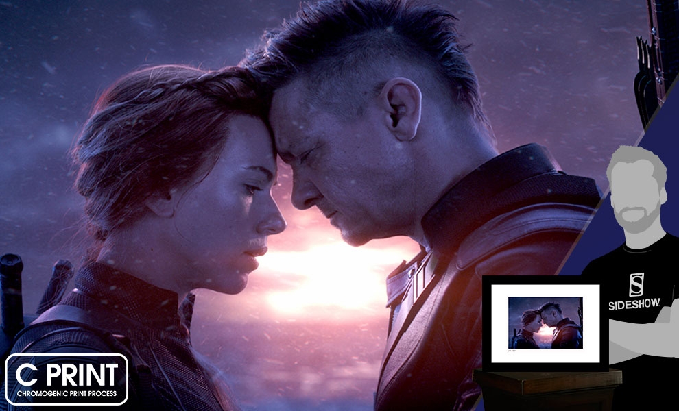 Natasha & Clint Say Goodbye Marvel Art Print