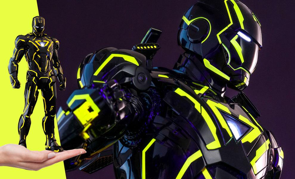 Neon Tech Iron Man 2.0 Sixth Scale Figure Marvel Sixth Scale Figure