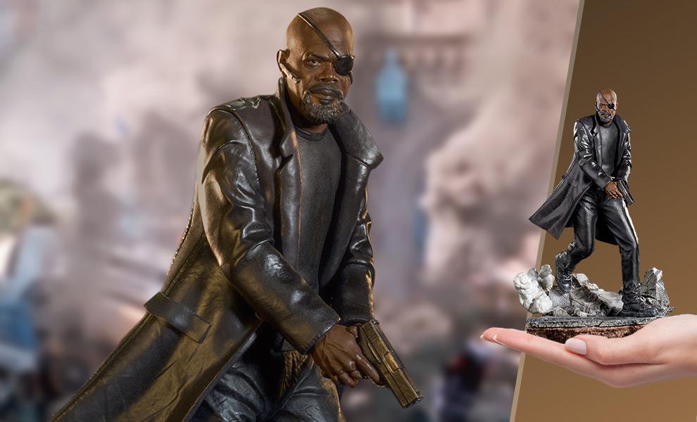 Nick Fury Marvel Statue