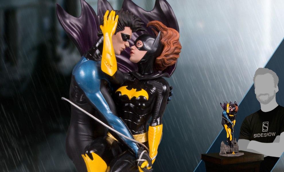 Nightwing and Batgirl DC Comics Statue