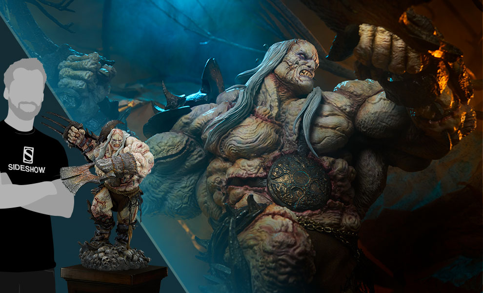 Odium: Reincarnated Rage Court of the Dead Maquette
