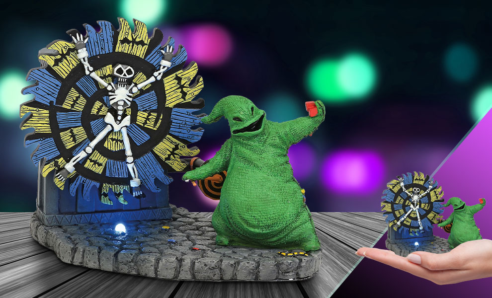 Oogie Boogie Gives a Spin Disney Figurine