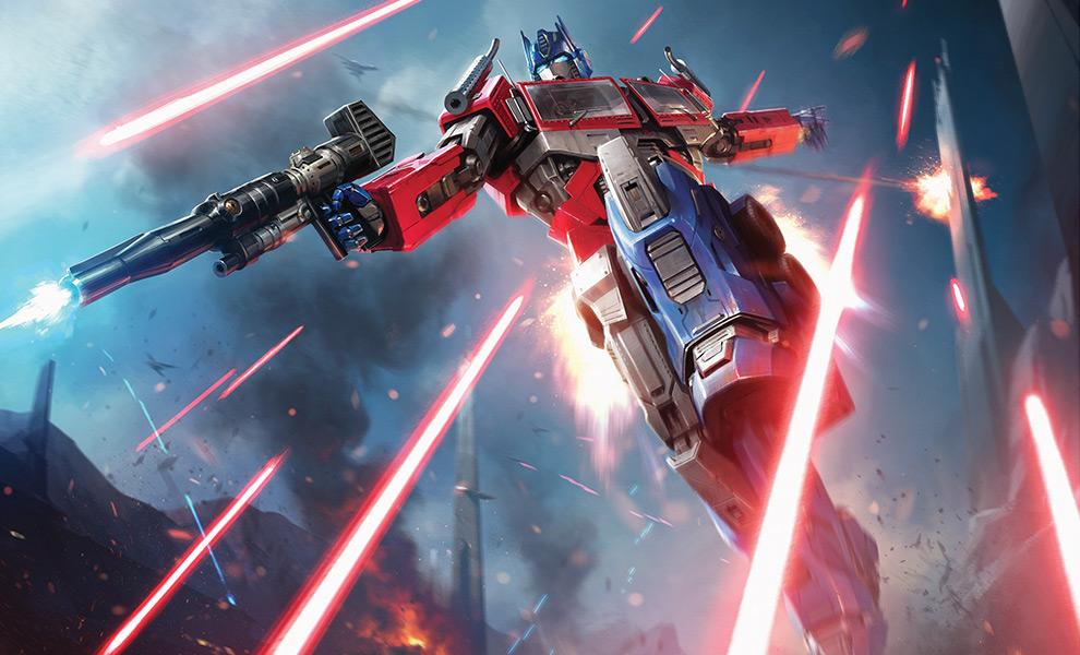 Optimus Prime: More Than Meets The Eye Transformers Art Print