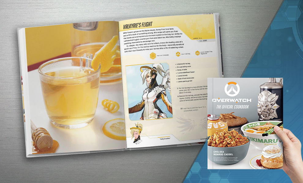 Overwatch: The Official Cookbook Overwatch Book