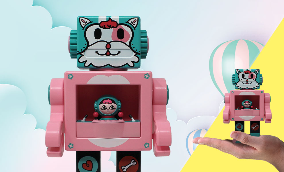 Petslala Pink OBOT Gagatree Collectible Figure