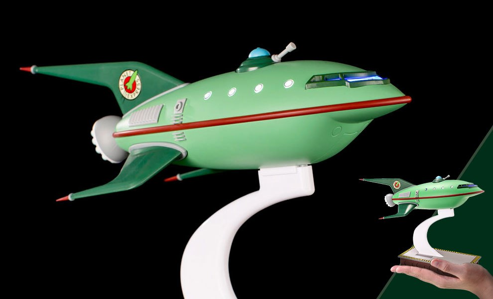 Planet Express Ship Futurama Scaled Replica