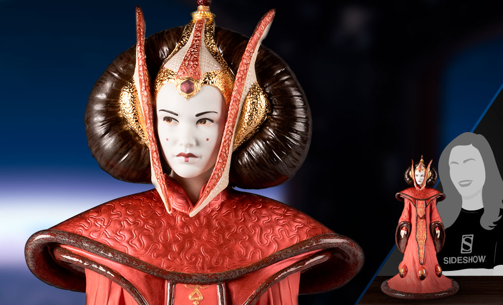 Queen Amidala in Throne Room Star Wars Figurine