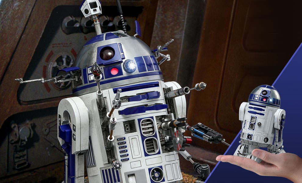 R2-D2 Deluxe Version Star Wars Sixth Scale Figure