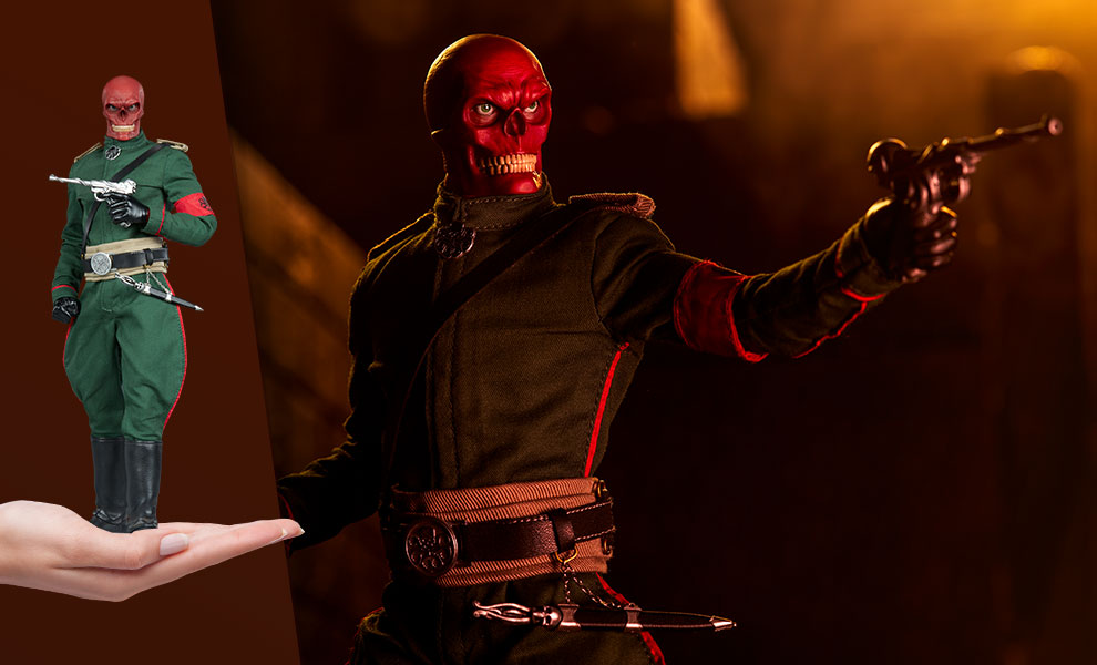 Red Skull Marvel Sixth Scale Figure
