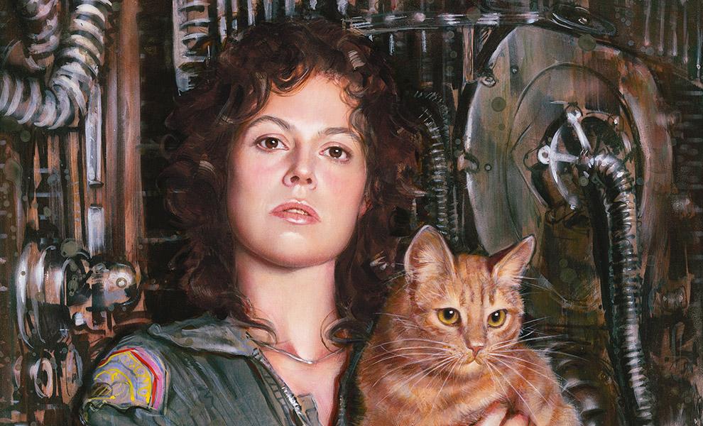 Ripley Alien Art Print