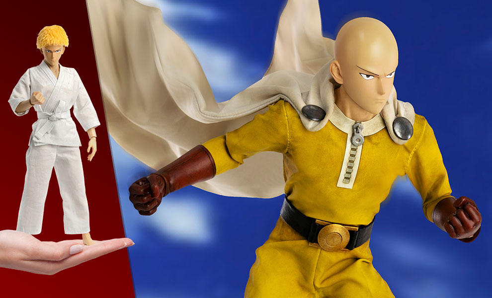 Saitama (Deluxe Version) One-Punch Man Sixth Scale Figure