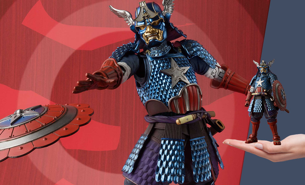 Samurai Captain America Marvel Collectible Figure