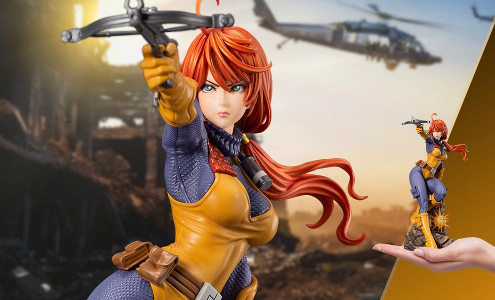 Scarlett G.I. Joe Statue - Bishoujo Series