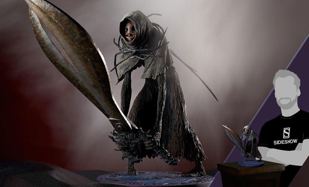 Scissorwalker NightCry Statue