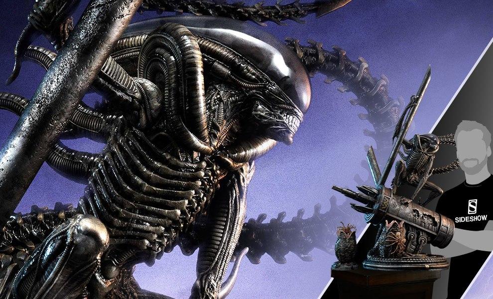 Scorpion Alien Deluxe Version Aliens Statue