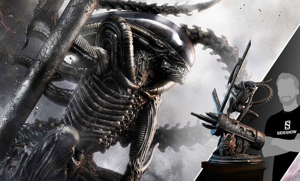 Scorpion Alien Aliens Statue