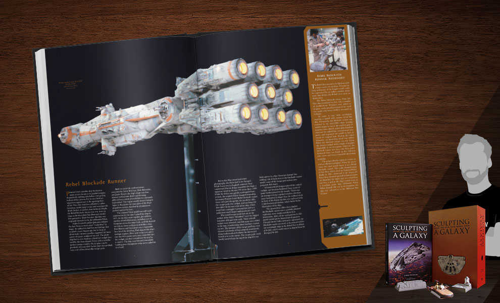 Sculpting a Galaxy: Inside the Star Wars Model Shop Limited Edition Star Wars Book