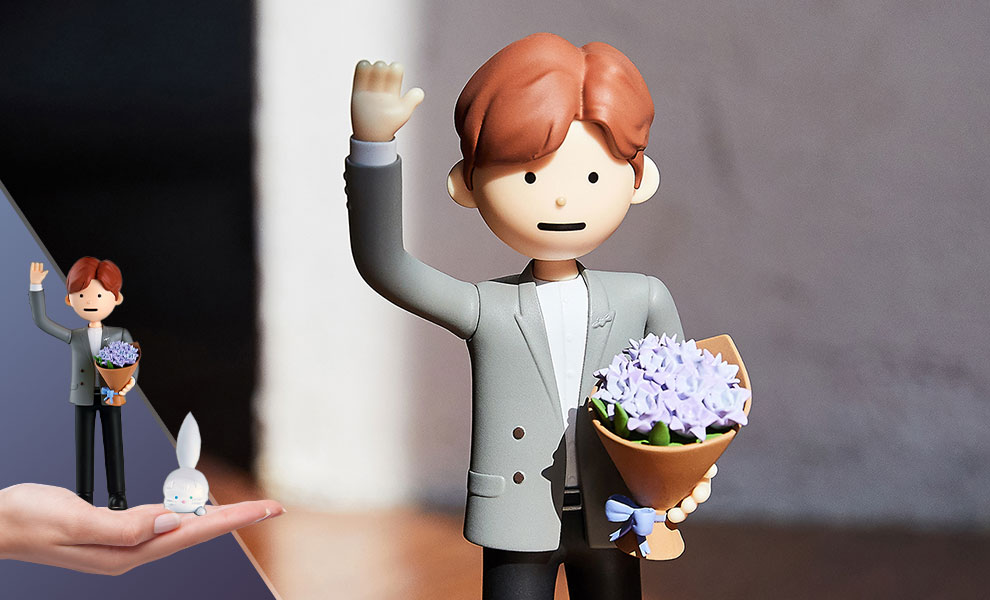 SeokJin BTS Designer Toy