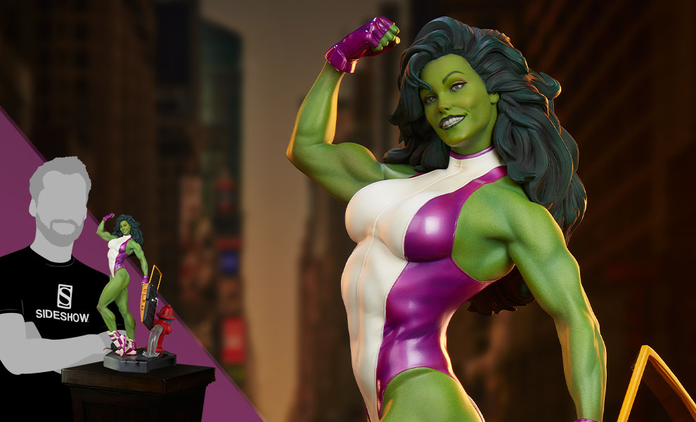 She-Hulk Marvel Statue
