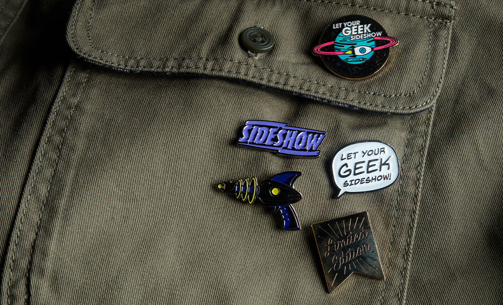Sideshow Series 1 Pins Sideshow Collectibles Collectible Set