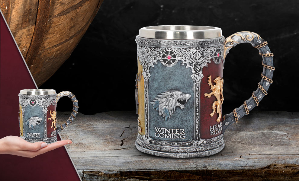 Sigil Tankard Game of Thrones Collectible Drinkware