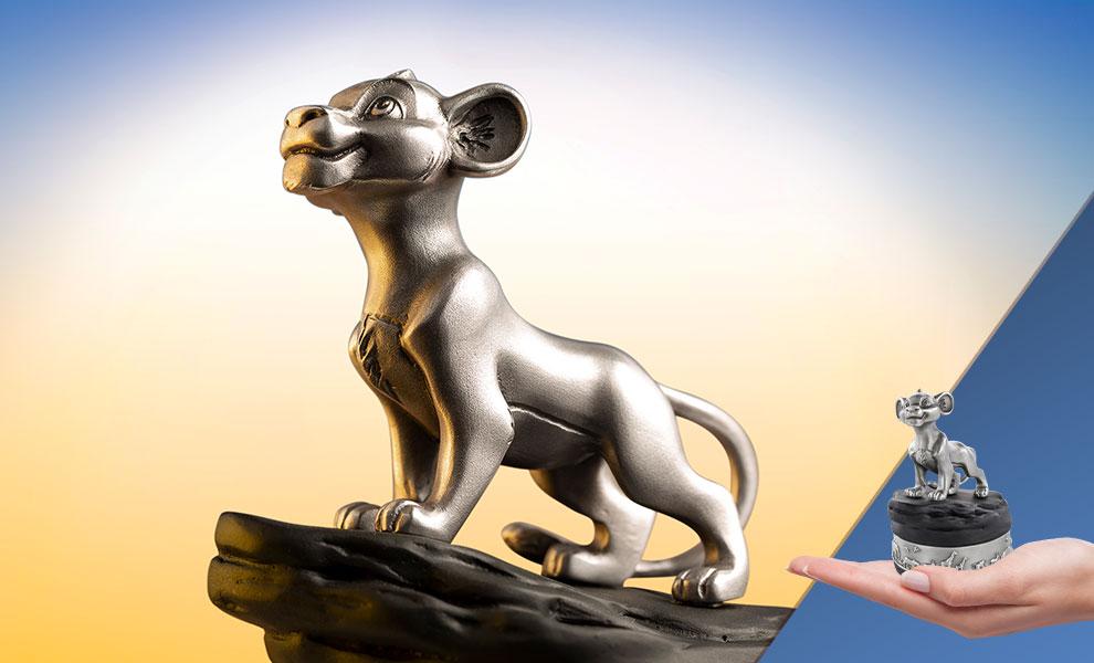 Simba Music Carousel Disney Pewter Collectible