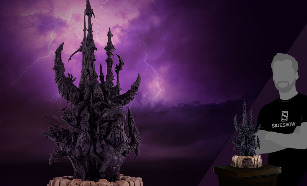 Skeksis Castle The Dark Crystal Scaled Replica