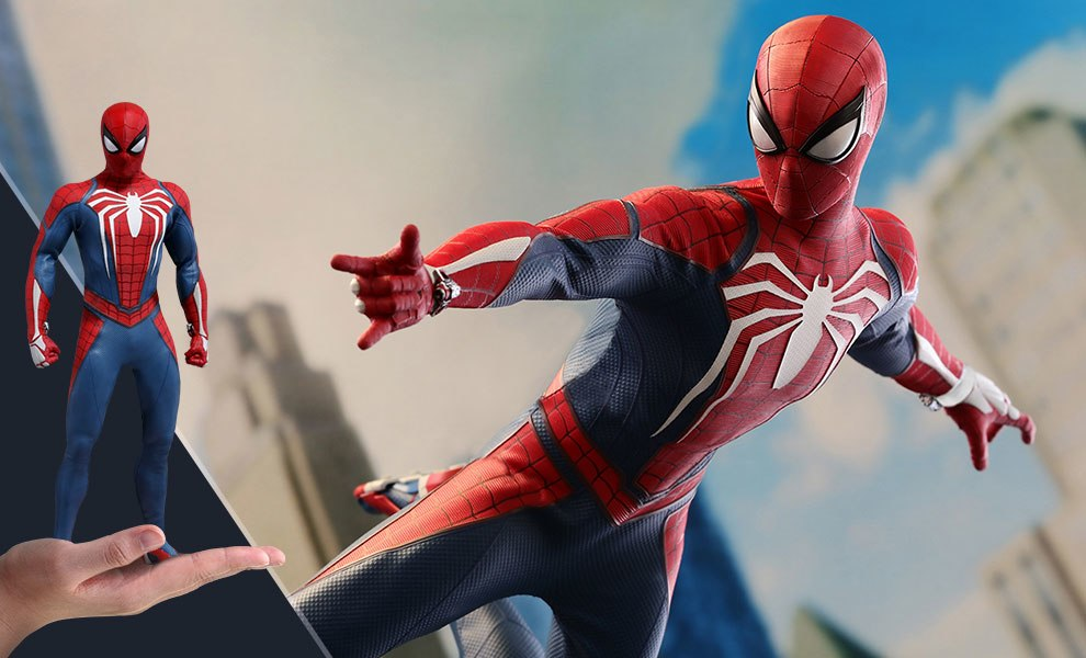 Spider-Man Advanced Suit Marvel Sixth Scale Figure