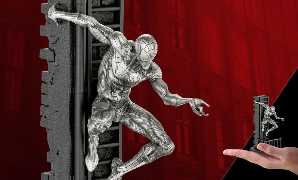 Spider-Man Figurine Marvel Pewter Collectible