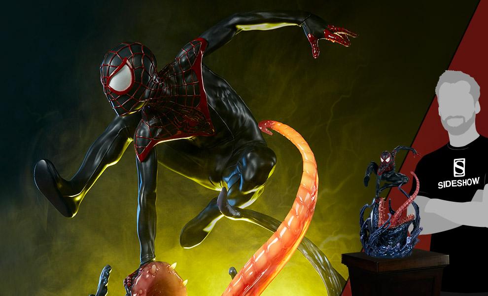 Spider-Man Miles Morales Marvel Premium Format™ Figure
