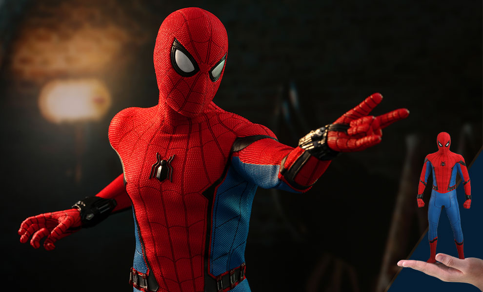 Spider-Man (Movie Promo Edition) Marvel Sixth Scale Figure