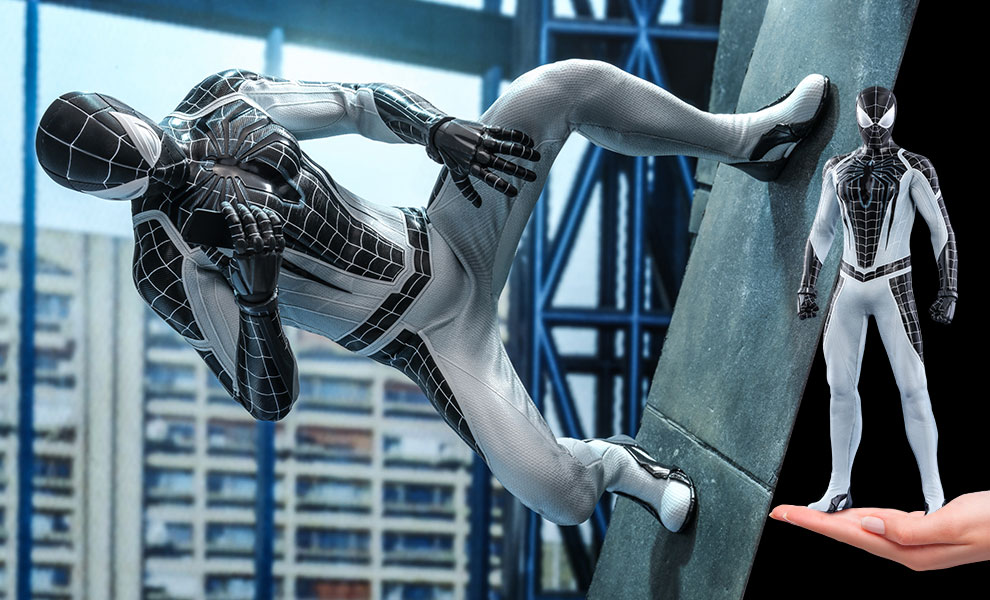 Spider-Man (Negative Suit) Marvel Sixth Scale Figure