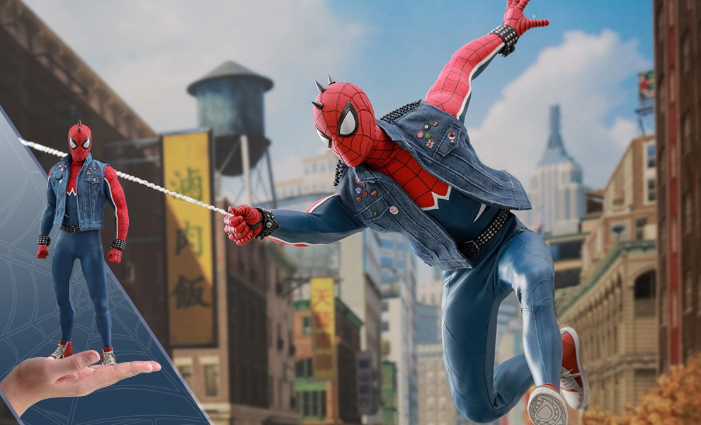 Spider-Man Spider-Punk Suit Marvel Sixth Scale Figure