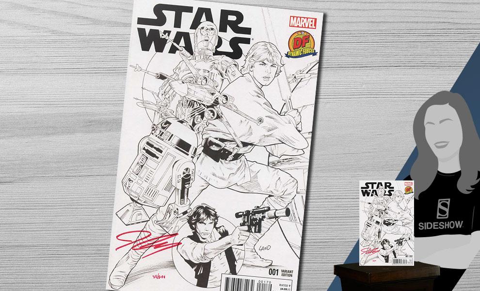 Star Wars #1 B&W Variant Star Wars Book