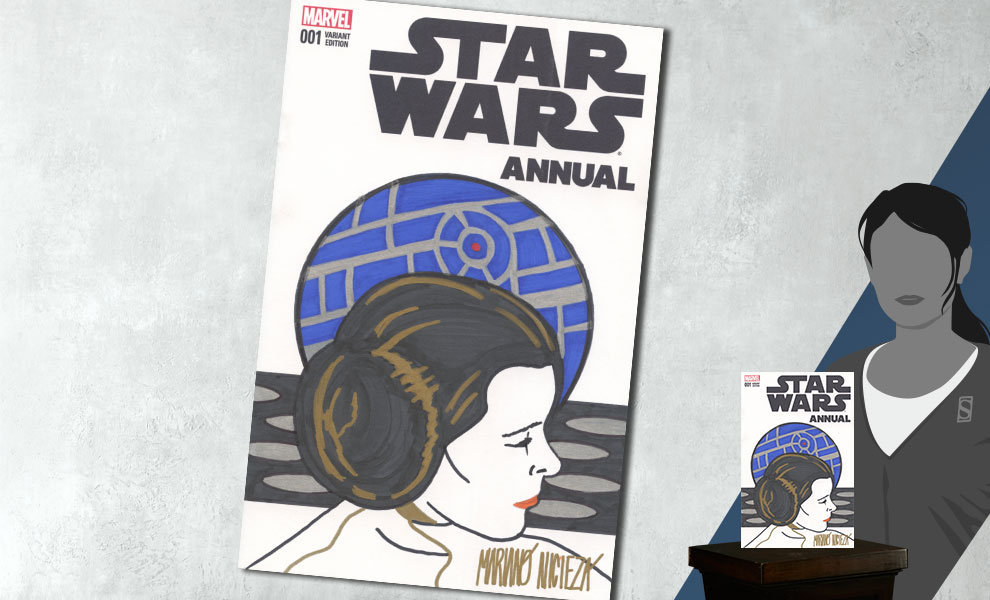 Star Wars Annual #1 Princess Leia Sketch Cover Star Wars Book